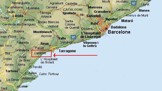 Salou Espagne Carte – cosprocare