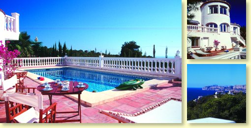 Villa avec piscine sur la costa brava villa piscine costa for Villa costa brava location avec piscine